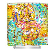 Sea Of Colors  Shower Curtain