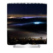 Sea Of Fog Shower Curtain