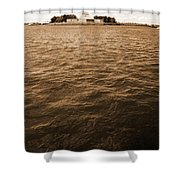 Sea Of Liberty Shower Curtain