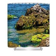 Sea Of Marmara Seashore Shower Curtain