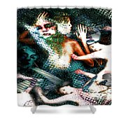 Sea Of Souls Submission Shower Curtain