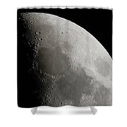 Sea Of Tranquility Shower Curtain