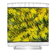 Sea Of Yellow Shower Curtain
