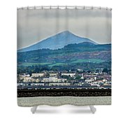 Sea Point And Sugar Loaf Mountain Shower Curtain