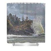Sea Power Shower Curtain
