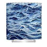 Sea Rhythms Shower Curtain