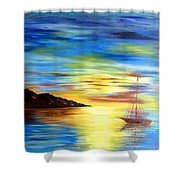 Sea Scape Shower Curtain