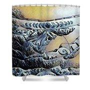 Sea Shaman Shower Curtain