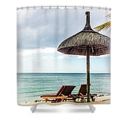Sea Side Shower Curtain