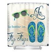 Sea Side-jp2732 Shower Curtain