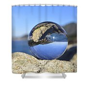 Sea Side Shower Curtain