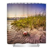 Sea Souvenir Shower Curtain