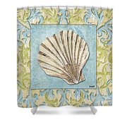 Sea Spa Bath 1 Shower Curtain