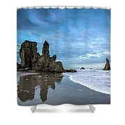 Sea Stacks Shower Curtain