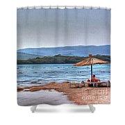 Sea Sun Beach Shower Curtain