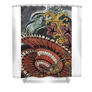 Sea Surge Shower Curtain