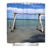 Sea Swing Shower Curtain