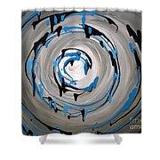 Sea Swirl  Shower Curtain
