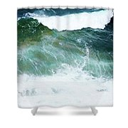Sea Veins Shower Curtain
