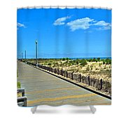 Sea Walk Shower Curtain