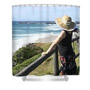 Sea Watch Shower Curtain