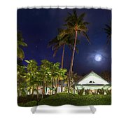 Sea Watch On The Ocean Shower Curtain