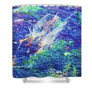 Sea Weed Shower Curtain