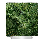 Sea Weeds Shower Curtain