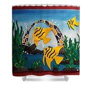 Sea World  Shower Curtain