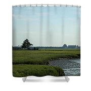 Seabrook Beach Nh  Shower Curtain