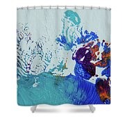 Seafloor Shower Curtain