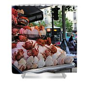 Seafood Restaurant 2 Shower Curtain