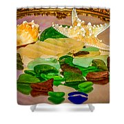 Seaglass - New Perspective Shower Curtain