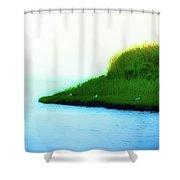 Seagull Island Shower Curtain