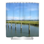 Seagull Line Shower Curtain