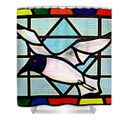 Seagull Serenade Shower Curtain