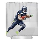 Seahawks Shower Curtain