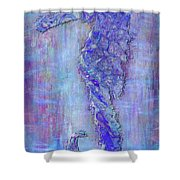 Seahoarse 6 Shower Curtain