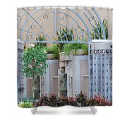 Seahorse Fountian Shower Curtain