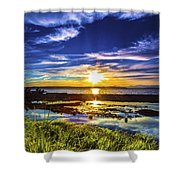 Seahurst Sunset Shower Curtain