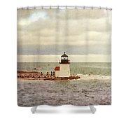 Seamans Light Shower Curtain