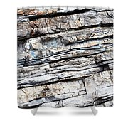 Abstract Rock Stone Texture Shower Curtain