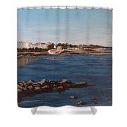 Seapoint From Salthill Shower Curtain