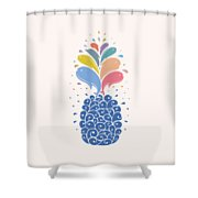 Seapple Shower Curtain