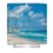 Search Vacations Online Shower Curtain