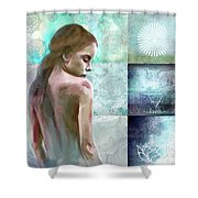 Searching For Inner Peace Shower Curtain