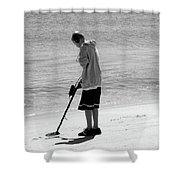 Searching For Patience Shower Curtain