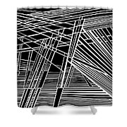 Searchlights Shower Curtain
