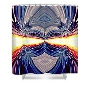 Searing Gaze Shower Curtain