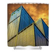 Sears Tower By Skidmore, Owings And Merrill Dsc4411 Shower Curtain